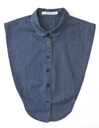 Midnight Denim Kraag (rond)