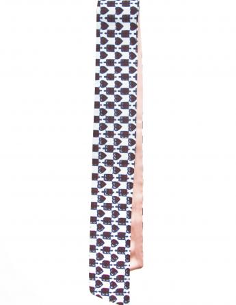Little Queen of Hearts Vlisco Scarf