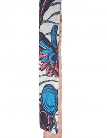 Little Pink & Blue Vlisco Scarf