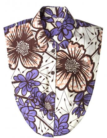 Power Flower  Vlisco Collar