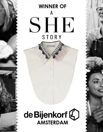 Exciting news! La Collerette x De Bijenkorf